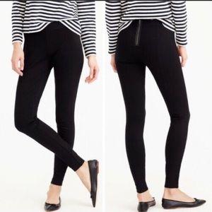 J Crew Black Pixie Pant Size 2